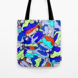 Sleepy Heads - Sapphire Blue Tote Bag