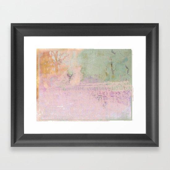 Abstract ~ Landscape Framed Art Print