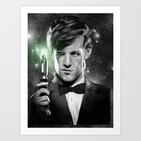 Matt Smith Art Print