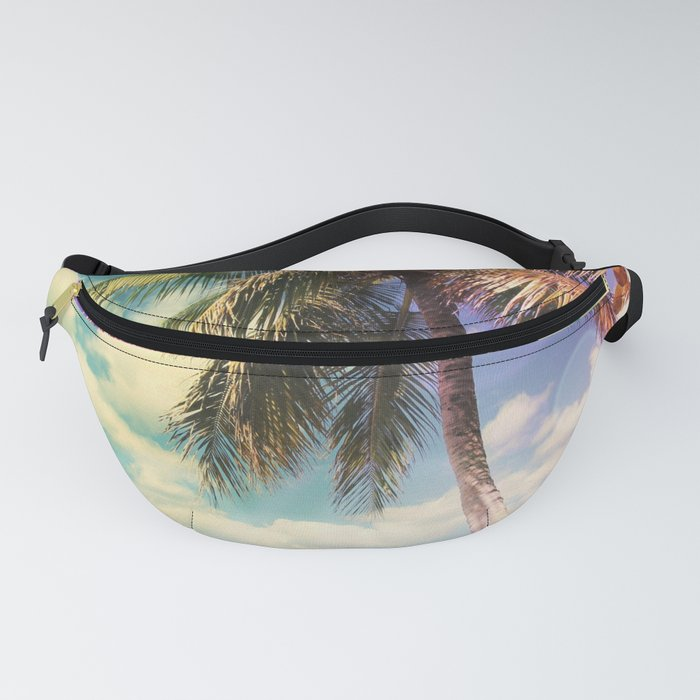 Prismatic Palm Fanny Pack