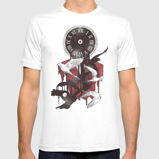 Existence in Time and Space T-shirt