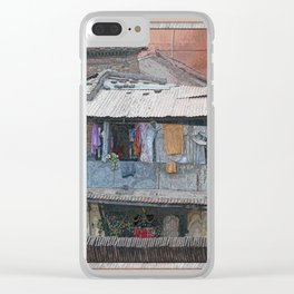 HUMBLE ABODE Clear iPhone Case