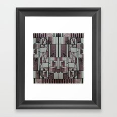 FX#509 - The Faded Geometric Framed Art Print