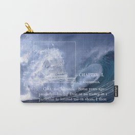 Deep Blue - Moby Dick 2 Carry-All Pouch