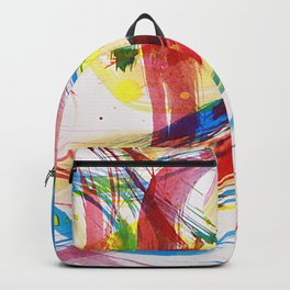 Dancing colors 2 Backpack