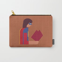 Ms Lady Reads Carry-All Pouch