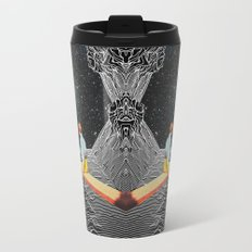 unknown pleasures to Infinity Travel Mug