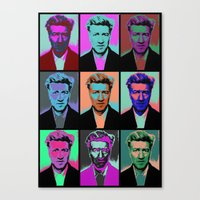 popart Canvas Prints featuring Different popart by Renars