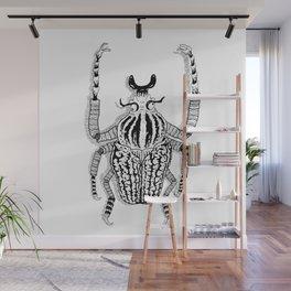 Goliath Beetle  Wall Mural