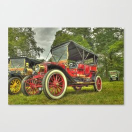 Stanley Steam Car Canvas Print