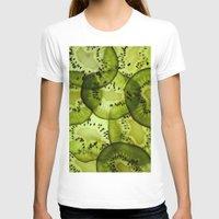 kiwi T-shirts featuring kiwi by Claudia Araujo