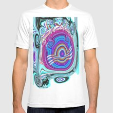 Tadpole A Mens Fitted Tee White MEDIUM