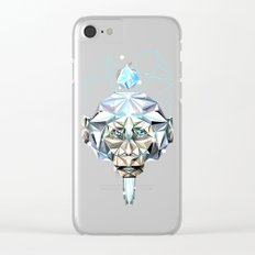 Brilliant Monkey Clear iPhone Case