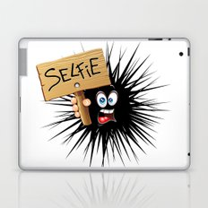 Selfie Fun Cartoon Face Laptop & iPad Skin