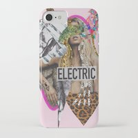 sia iPhone & iPod Cases featuring ELECTRIC FANTA-SIA  by Vasare Nar