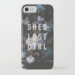 She's Lost Control iPhone Case