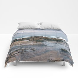A Day At The Beach Seascape Comforters