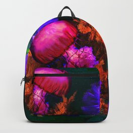 Deep Waters Colorful graphic design Backpack