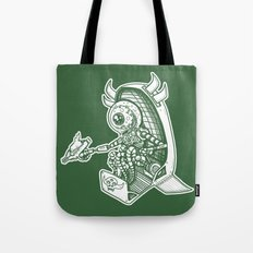Space Alien Bounty Hunter by RonkyTonk Tote Bag