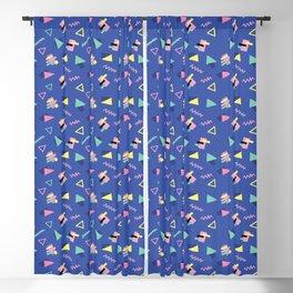 90s Print  Blackout Curtain