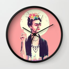 The Frida Kahlo Lollipop Wall Clock