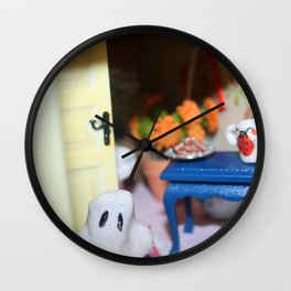 Welcome To Our (Spooky) House Wall Clock