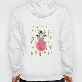 Lux Rose Pineapple Hoody