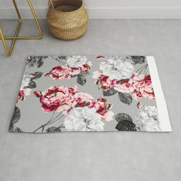 Flora temptation - twilight Rug