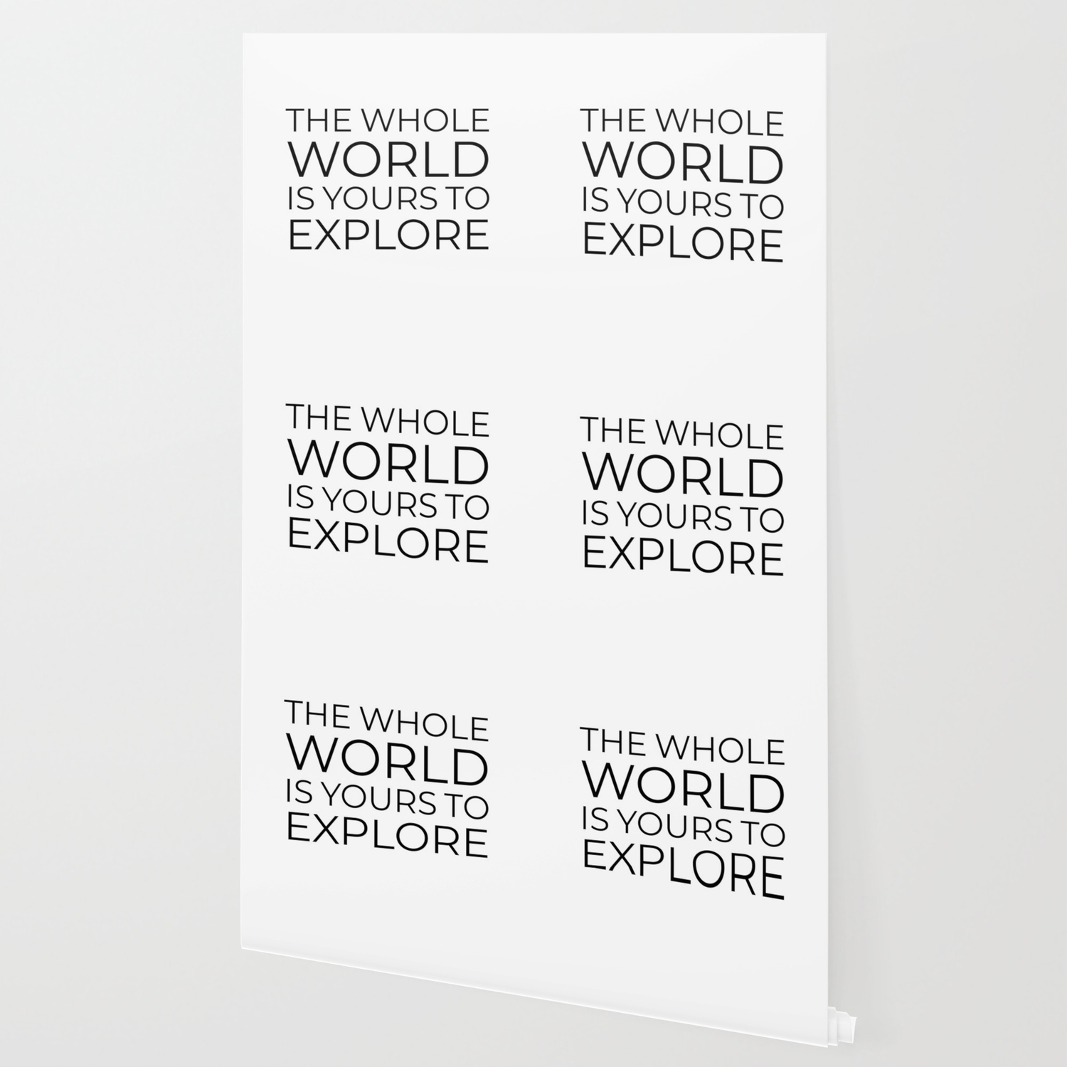 The Whole World Is Yours To Explore Wallpaper By Brightnomad