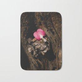 Sweet heart of flower Bath Mat