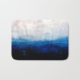 All good things are wild and free - Ocean Ombre Painting Bath Mat