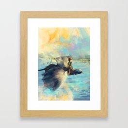 Riders of Berk Framed Art Print