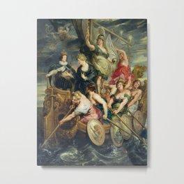 Peter Paul Rubens - The Majority Of Louis Xiii. Metal Print