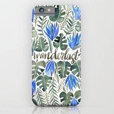 Tropical Wanderlust – Periwinkle iPhone 6 Slim Case