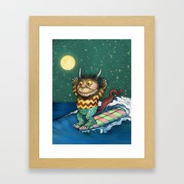 One Wild Ride Framed Art Print
