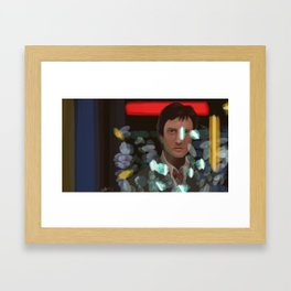 Bright Lights Framed Art Print
