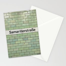 Berlin U-Bahn Memories - Samariterstraße Stationery Cards