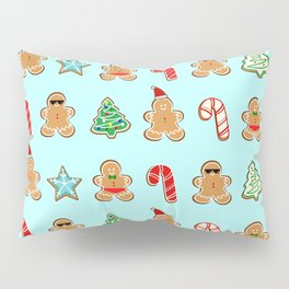 Naughty or Nice Gingerbread Pillow Sham