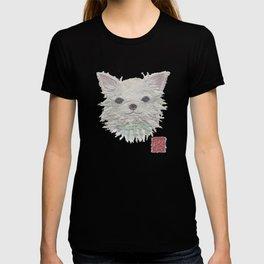 CHIHUAHUA, Long Haired Chihuahua, Dog T-shirt