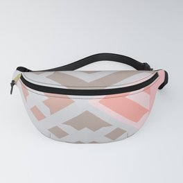 Italian Village - Soft  Pastel Landscape Abstraction Fanny Pack