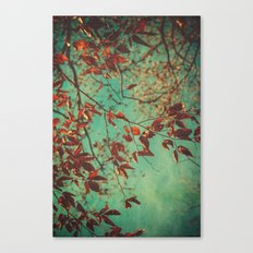Her Dreams Were in the Treetops Canvas Print