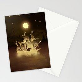 Viaje nocturno. Stationery Cards