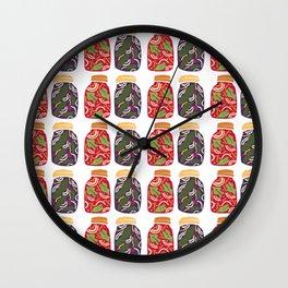 Ferments, Pickles & Kimchi Wall Clock