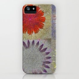 Uncaptivate Stripped Flower  ID:16165-034048-23510 iPhone Case