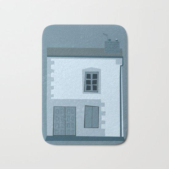 La maison et l'oiseau Bath Mat