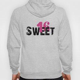 Sweet 16 logo design Hoody