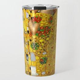 The Kiss Gustav Klimt Travel Mug