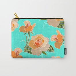 Rose Frenzy Carry-All Pouch