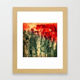 Jorge y El Dragón Framed Art Print