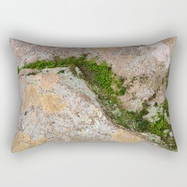 Yin Yang Moss Stone Rectangular Pillow